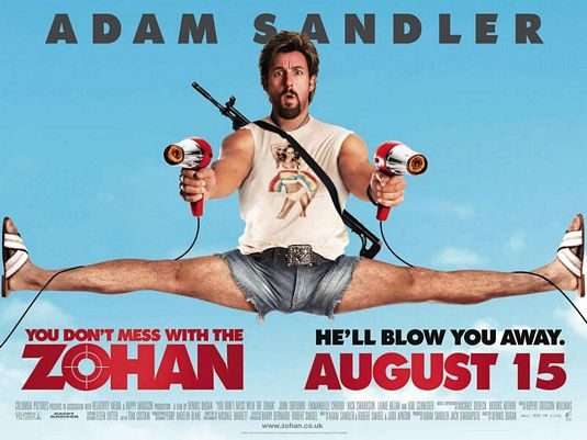 You Don't Mess With The Zohan – Movie Review