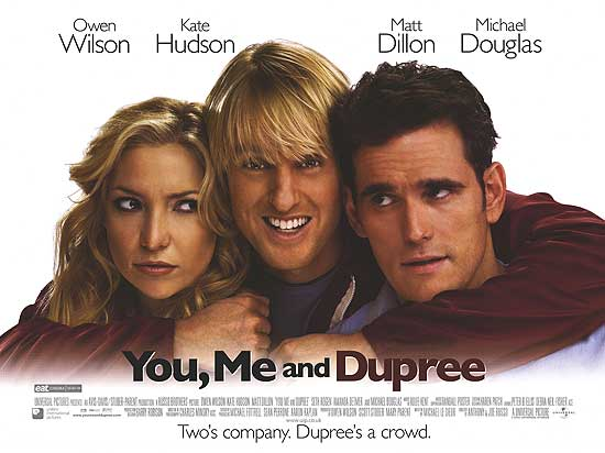 You, Me and Dupree – Movie Review