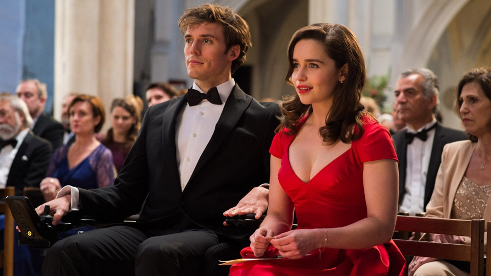 Sam Claflin & Emilia Clarke in Me Before You